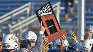 Big Sky Trophy Championship Celebration 11-17 vs. Sacramento State